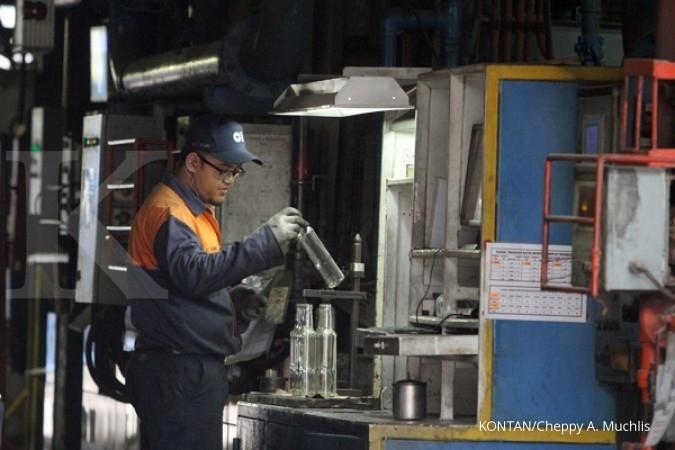 AMFG Produksi industri kaca diprediksi turun 5% di 2018
