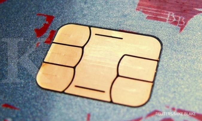 BNGA BBNI BMRI Bank bertahap migrasi kartu chip