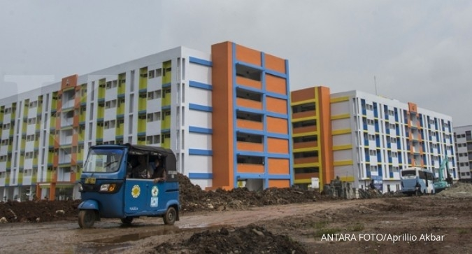 Tunggakan rusun di Jakarta capai Rp 1,37 miliar