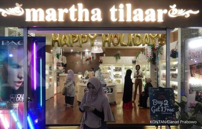 Martina Berto dandani pasar kosmetik