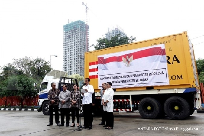 Jokowi kirim bantuan 5.000 ton beras ke Sri Lanka
