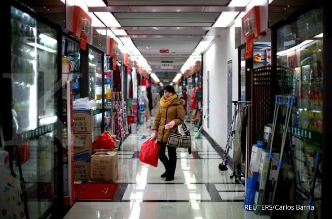2017, ekonomi China ditargetkan tumbuh 6,5%