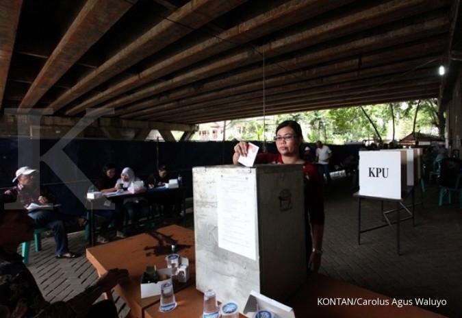 Hasil pemilu versi KPU DKI hampir rampung