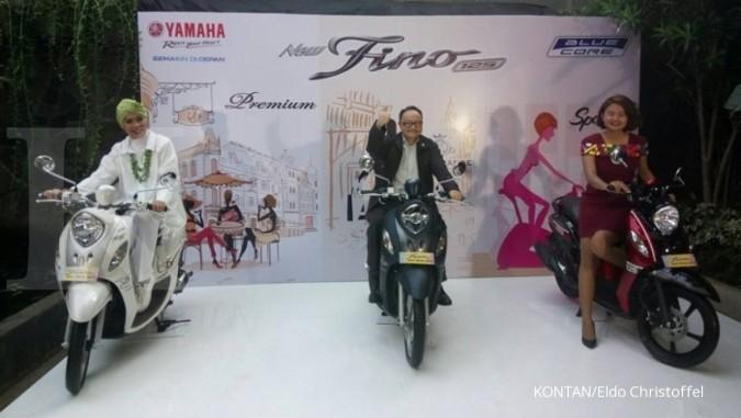 Incar pasar wanita, Yamaha luncurkan Fino baru