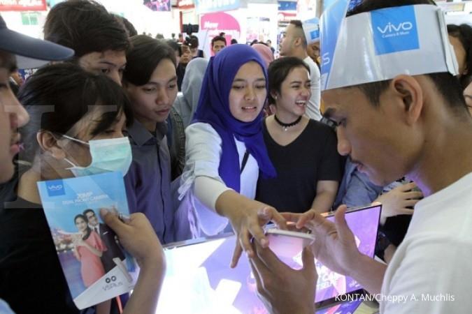 Vivo kian agresif di pasar ponsel Indonesia