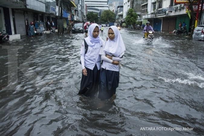Ciliwung meluap, 1.178 KK di kebanjiran selutut