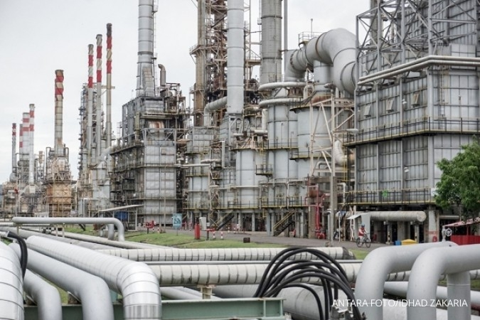 Cadangan AS naik 7 pekan beruntun, minyak melorot