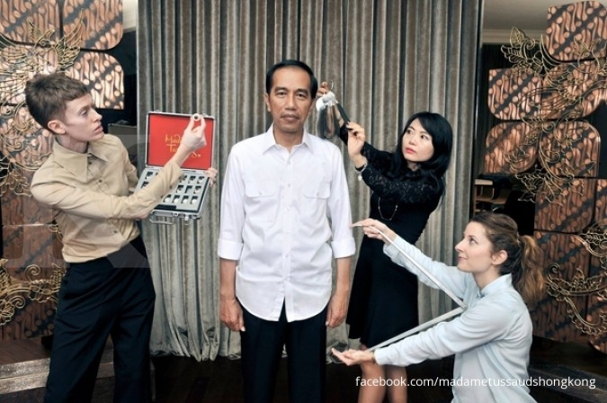 Patung Jokowi di Museum Madame Tussauds