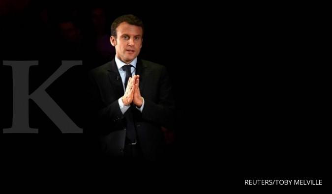 Obama dukung Macron dalam pilpres Prancis