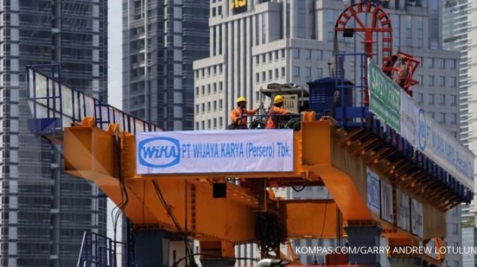 Realiasi kontrak WIKA 34,33% di paruh Maret ini