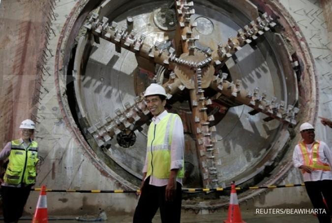 Jokowi optimis MRT fase I beroperasi awal 2019