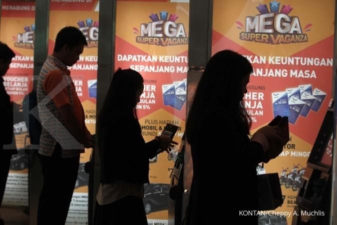 Bank Mega prediksi transaksi kartu kredit naik 15%