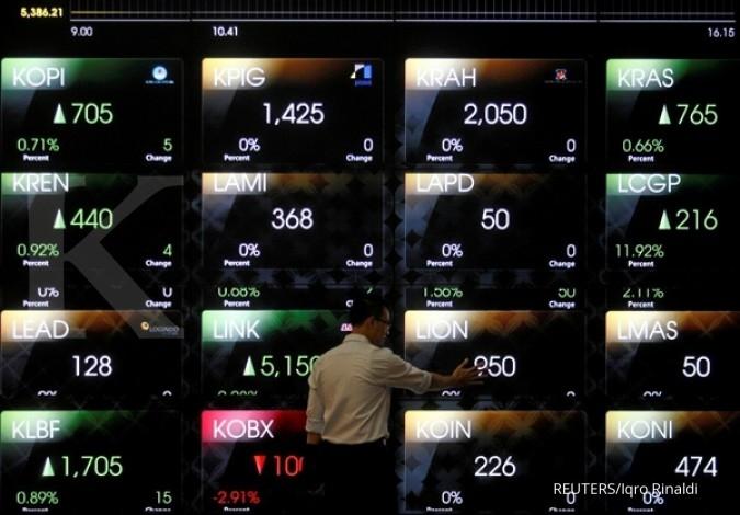 Asing catatkan net sell Rp 1,359 T dari awal tahun
