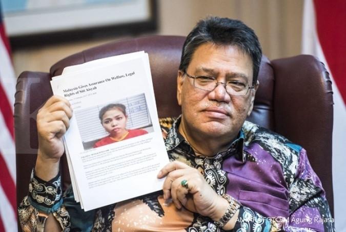 KBRI beri pendampingan hukum pada Siti Aisyah