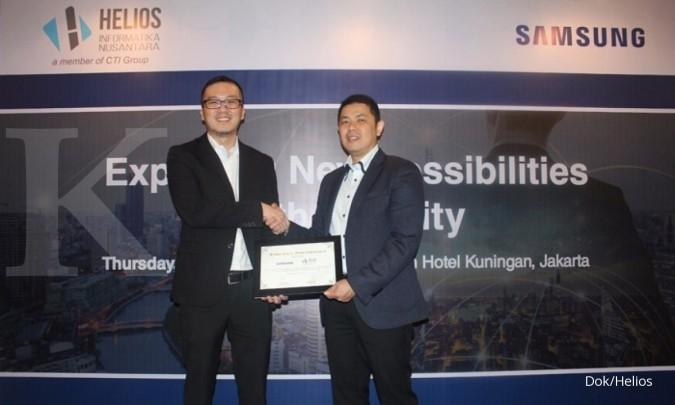 Perkuat solusi enterprise, Helios gandeng Samsung