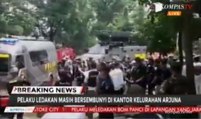 Terduga teroris di Bandung dilumpuhkan