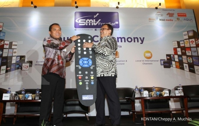 Dengan Rp 499.000, bisa nikmati TV satelit gratis