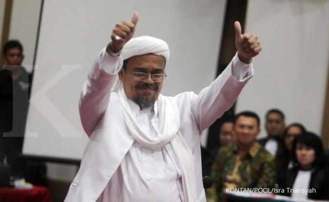 Kata Wakil Ketua DPR soal status DPO Rizieq Shihab
