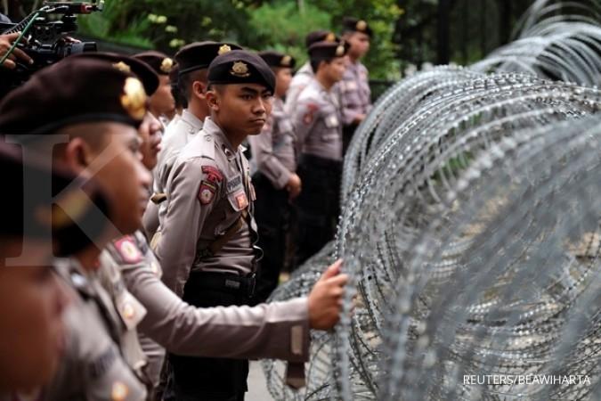 300 personel Polisi akan kawal aksi unjuk rasa di Balai Kota besok