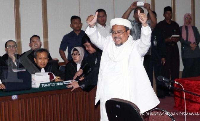 Tak mau pulang, ini aktivitas Rizieq di Arab Saudi