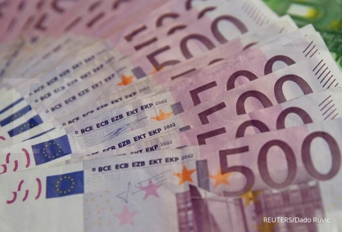 Laju euro masih didukung hasil pemilu Belanda