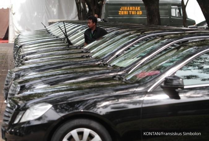Wow! 1.700 kendaraan mewah belum bayar pajak