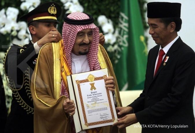 RI negara pertama penerima kiswah dari Raja Salman