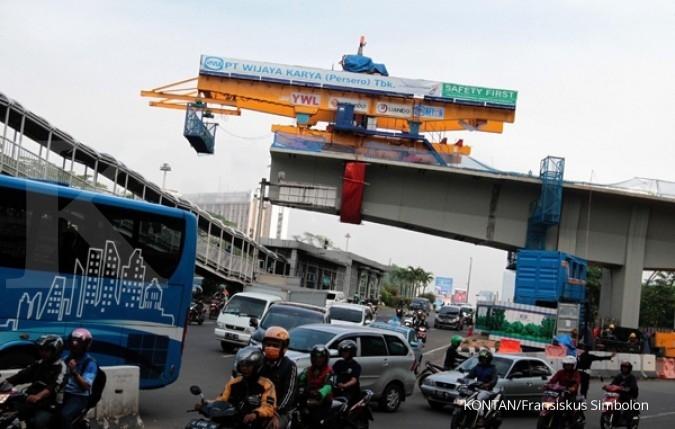 Rekayasa lalu lintas pembangunan flyover Cipinang