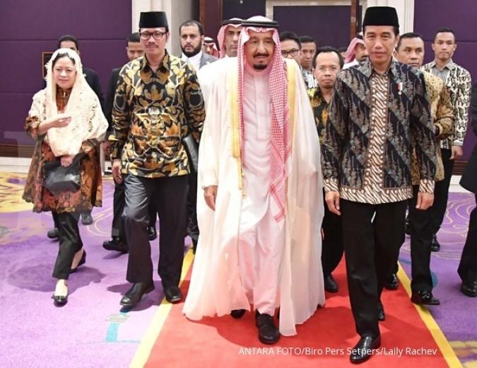 Jokowi kembali ucapkan terima kasih ke Raja Salman