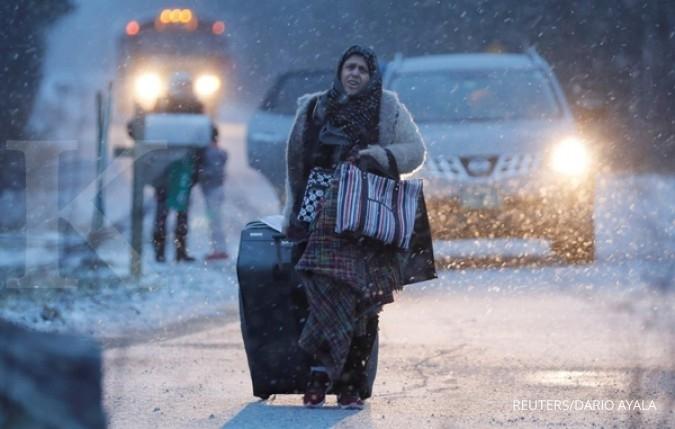 Travel ban AS untuk 6 negara muslim berlaku