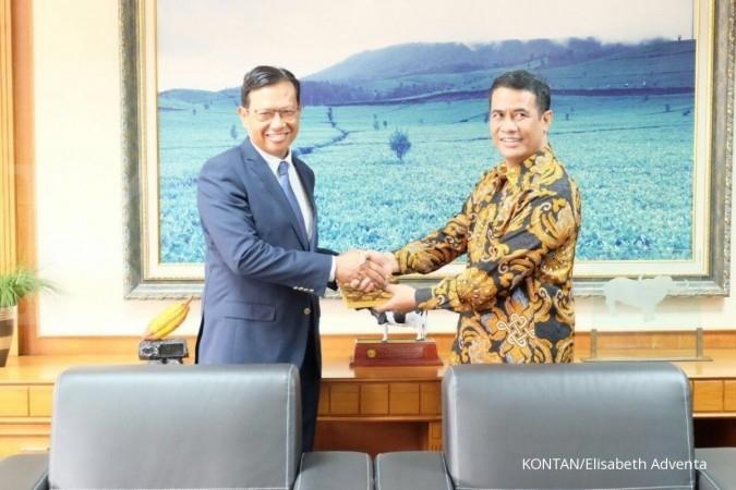 Indonesia-Malaysia menanam jagung bersama