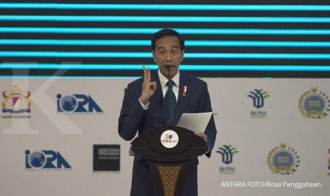 Jokowi ingin ekonomi 2018 tumbuh 5,4%- 6,1%