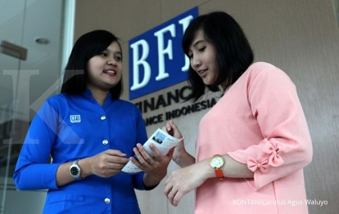 BFI Finance tekan kredit macet jadi 1,01%