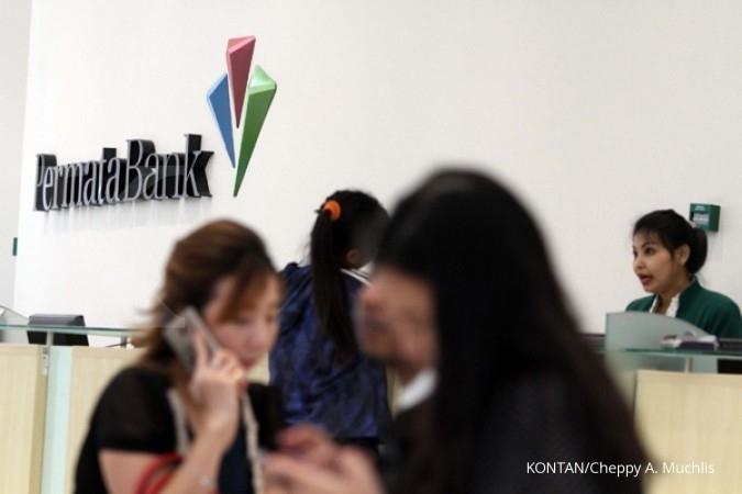 BNLI Kredit wholesale banking Bank Permata naik 8%