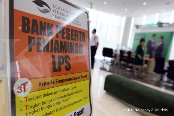 Pertama kalinya, 50% simpanan di bank dijamin LPS