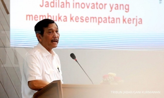 Luhut warns governor-elect not to stop reclamation