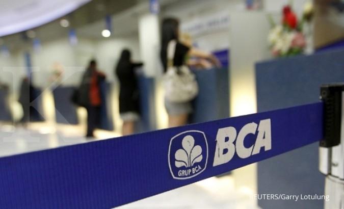 Kredit BCA di September masih satu digit