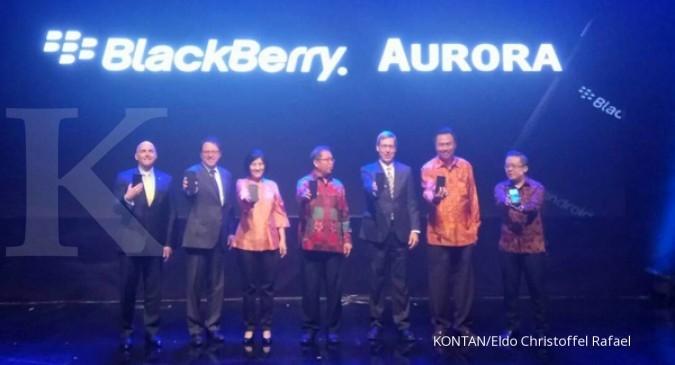 BlackBerry bidik jual 1 juta ponsel Aurora
