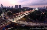 Juli 2017, Simpang Susun Semanggi diuji coba