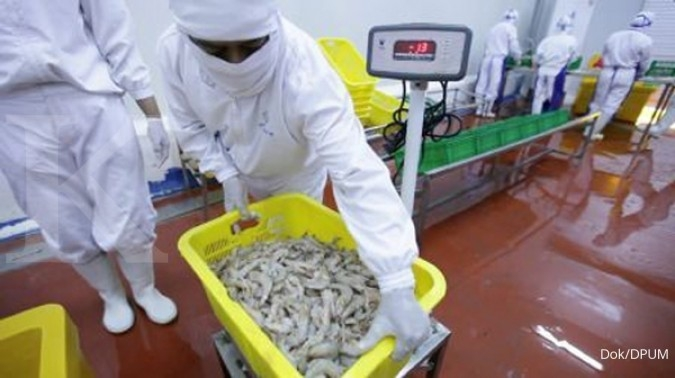 DPUM DSFI Laju saham emiten sektor perikanan masih tertahan