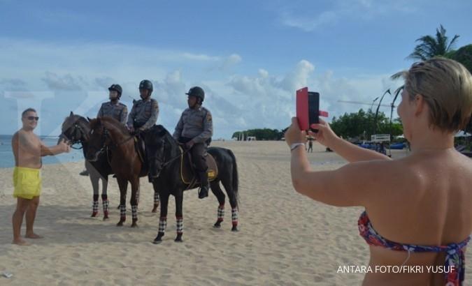 Kunjungan turis asing Februari 2017 tergerus imlek