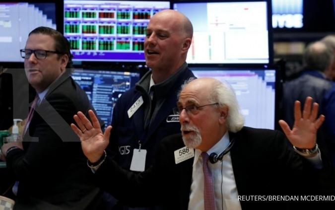 Wall Street disulut perbaikan tiga data ekonomi