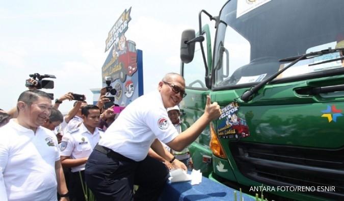 Cegah pelanggaran dengan truk pelopor keselamatan