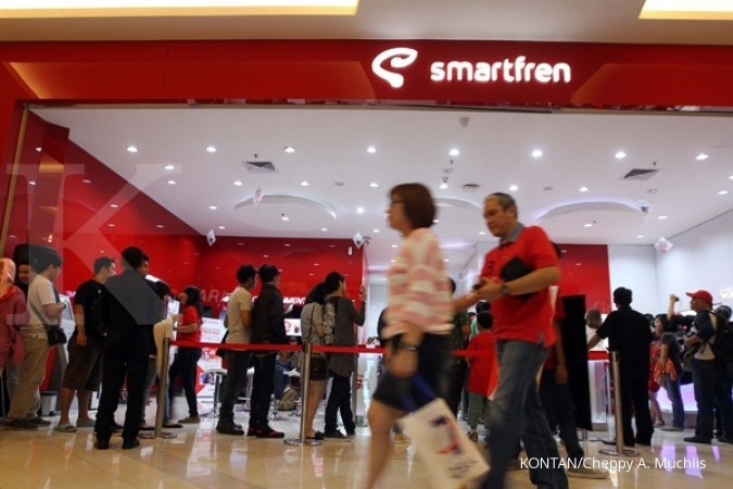 Private placement Smartfren berefek dilusi 49%