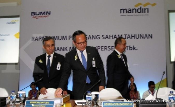 Bank Mandiri siapkan modal ekspansi Rp 4 triliun