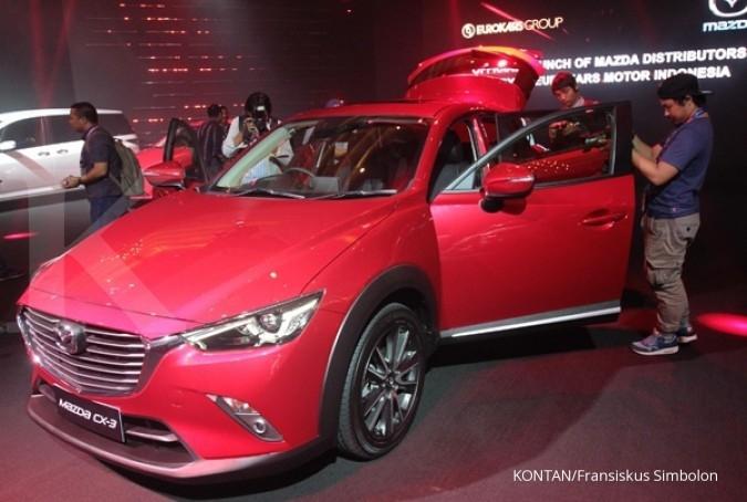 Resmi mengaspal, Mazda CX-3 dilego Rp 388 juta