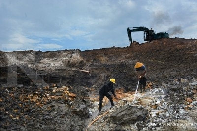 Illegal tin mining in Babel declines