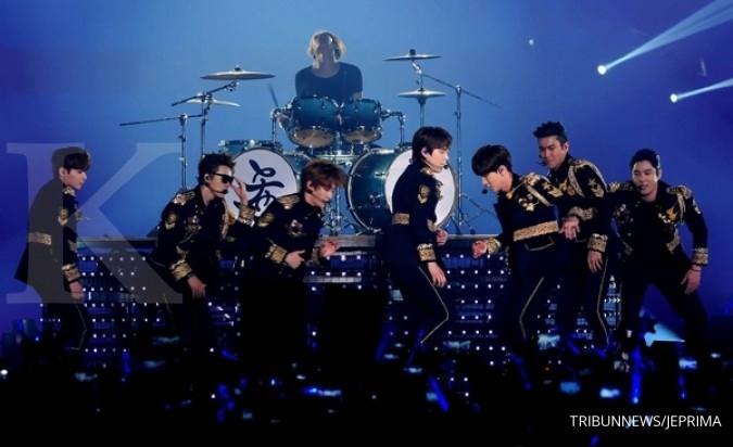 Super Junior undang Jokowi ke konser mereka
