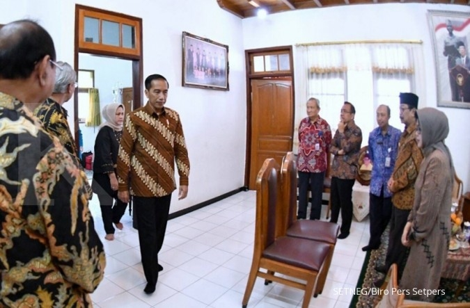 Jokowi tawarkan dokter kepresidenan kepada Hasyim