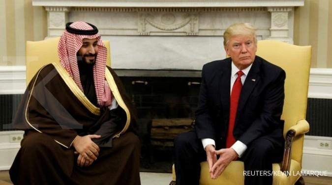 Presiden Trump sambut hangat Pangeran bin Salman